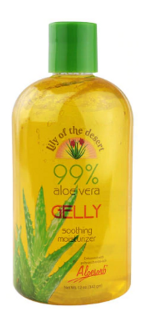 ALOE VERA GELLY, *SALE* 99%, 12 FL OZ