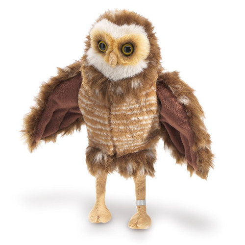 BURROWING OWL PUPPET, Folkmanis