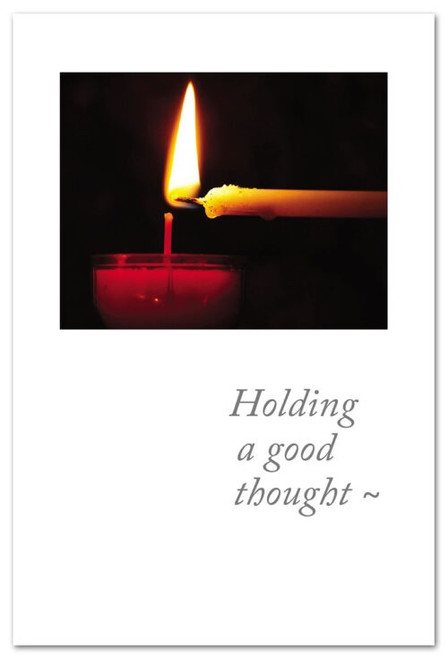 Holding a good thought~
