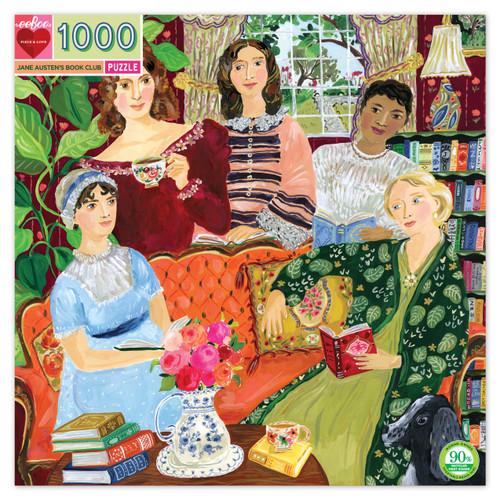 PUZZLE, JANE AUSTIN'S BOOK CLUB, eeBoo - 1000 pieces