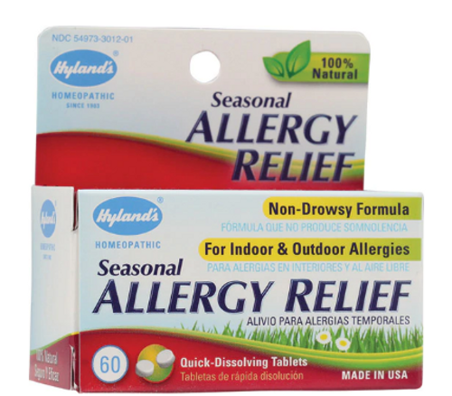 ALLERGY RELIEF, Hylands, 60 tablets
