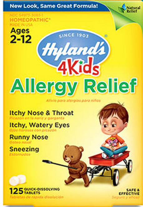 ALLERGY RELIEF FOR KIDS, 125 TABLETS