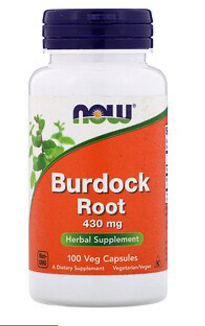 Burdock Root 430 mg 100 Veg Capsules