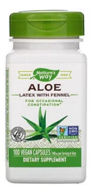 ALOE , Nature\s Way, 140 mg, 100 VEGAN CAPS