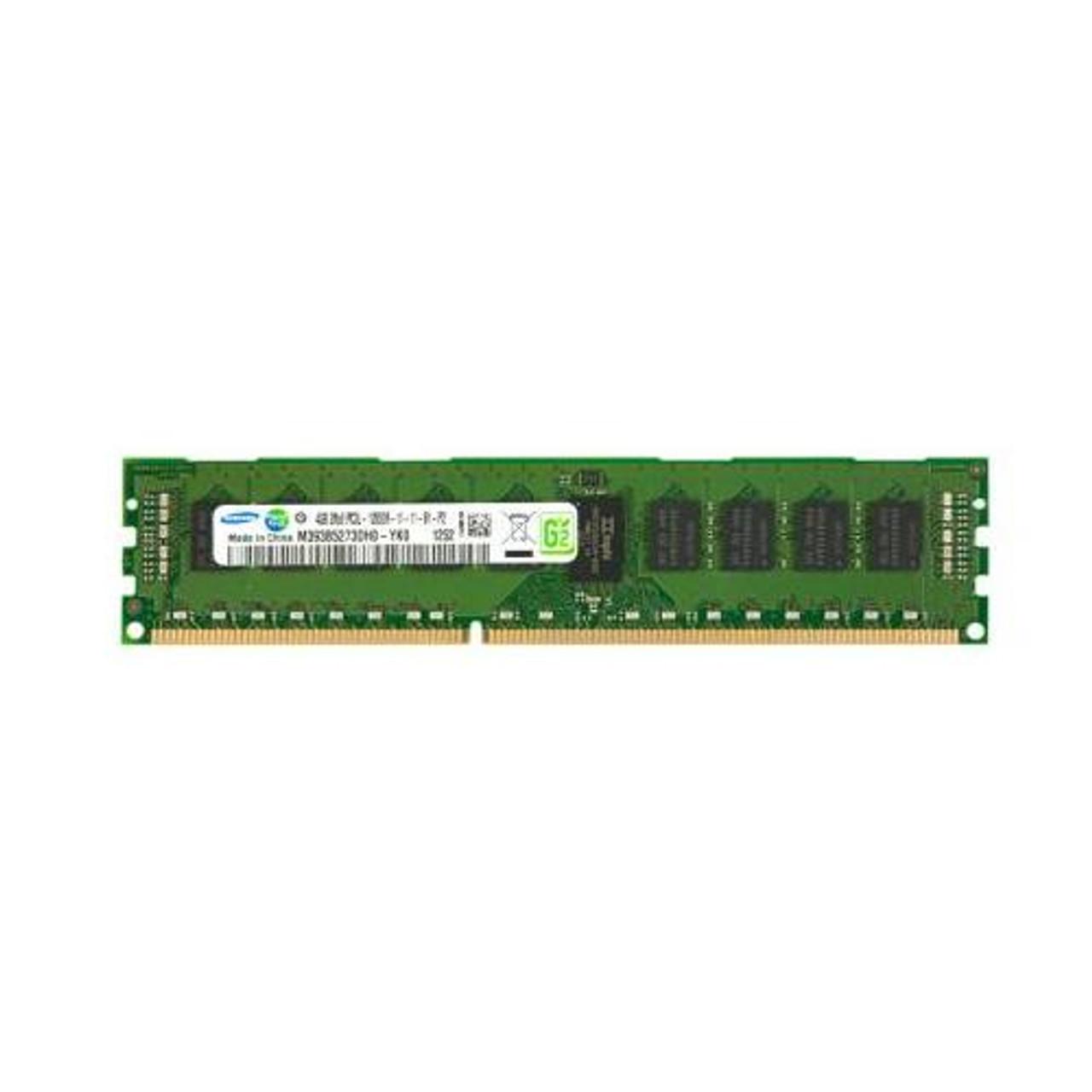 8GB DDR3 PC3L-10600R 2Rx8 ECC Reg Server Memory RAM Samsung M393B1G73BH0-YH9
