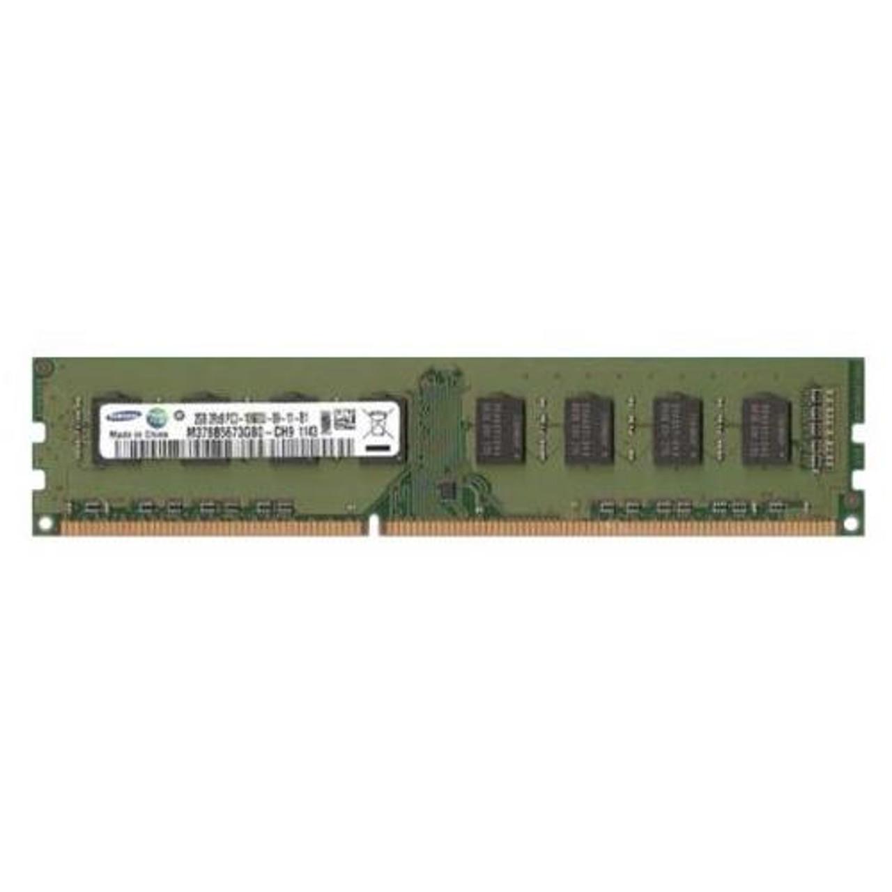 Samsung 2GB 1Rx8 PC3-10600U DDR3 M378B5773DHO-CH9 Desktop ram