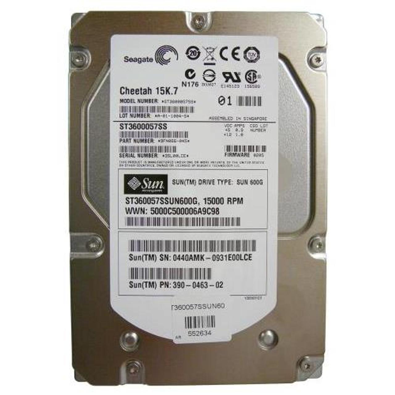 """Seagate Cheetah 15k.7 600GB 15K 3.5/"""" SAS HDD ST3600057SS 9FN066-038"""