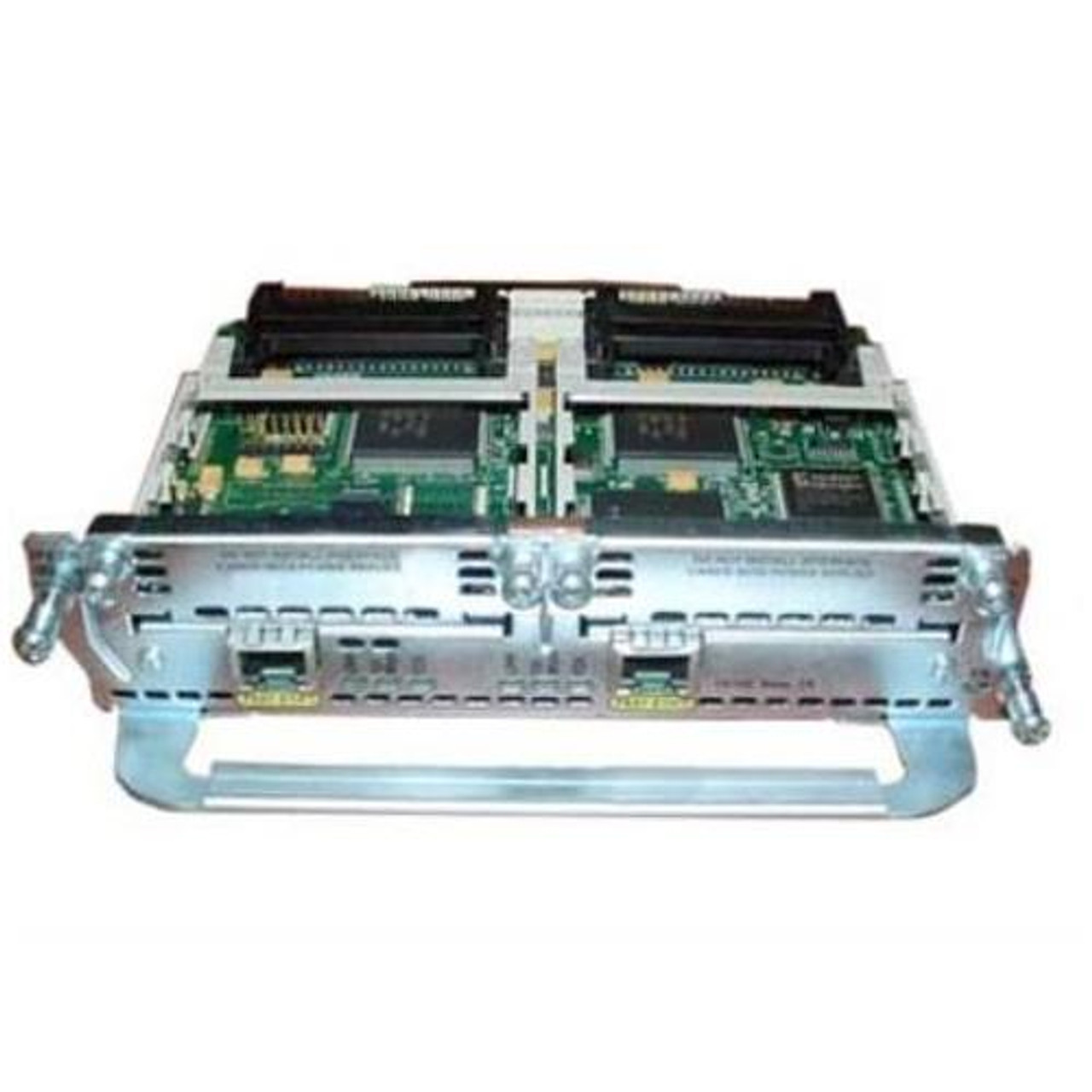 CISCO NM-2FE2W-V2 2 PORT 10//100 ETHERNET WITH 2 WAN CARD SLOT NETWORK MODULE
