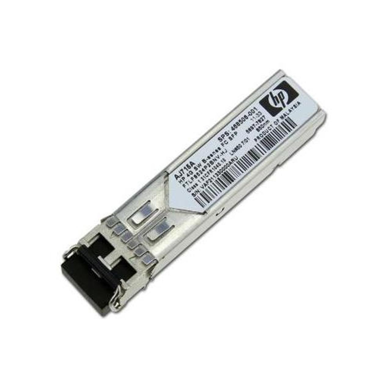HP AJ715A AJ715-63001 468506-001 Short Wave B-series 1 Pack SFP Transceiver