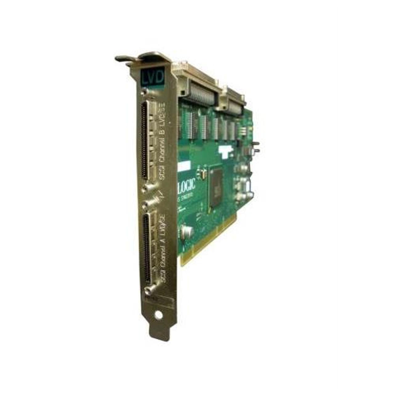 A5150A HP Dual Port Ultra2 SCSI PCI Adapter Universal PCI Up to 40MBps 2 x  68-pin HD-68 Ultra2 SCSI SCSI-2 Internal 2 x 68-pin VHDCI Ultra2 SCSI SCSI