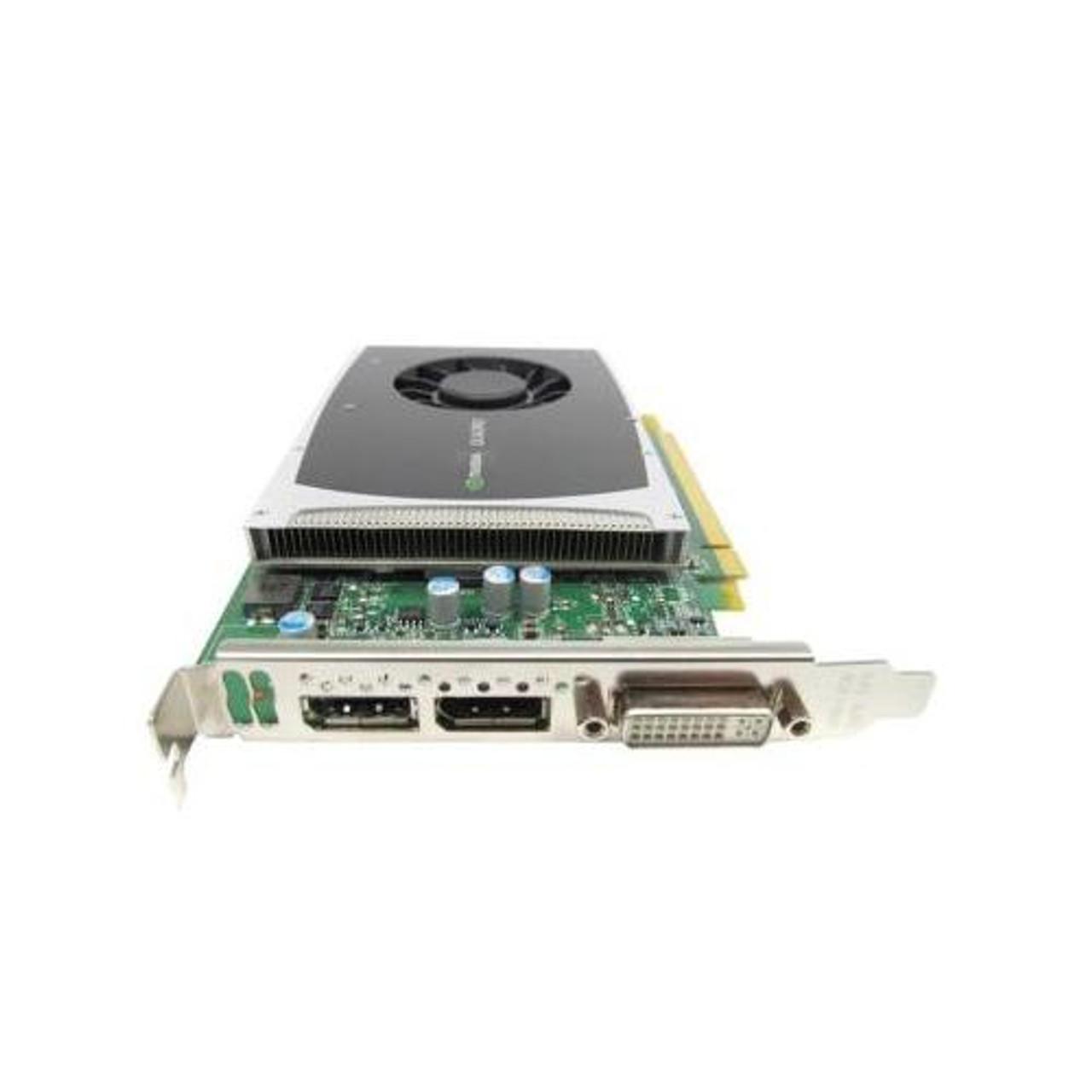 612952-002 HP Nvidia Quadro 2000 PCI-Express x16 1GB GDDR5 GPU Memory  128-bit DVI / DisplayPort Video Graphics Card