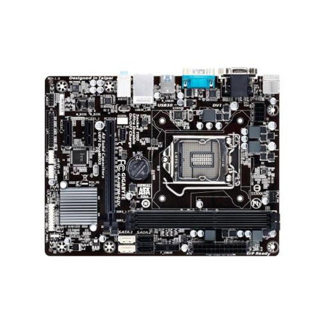 Gigabyte GA-H81M-S2PV -1.0- motherboard micro ATX LGA1150 Socket H81 OB