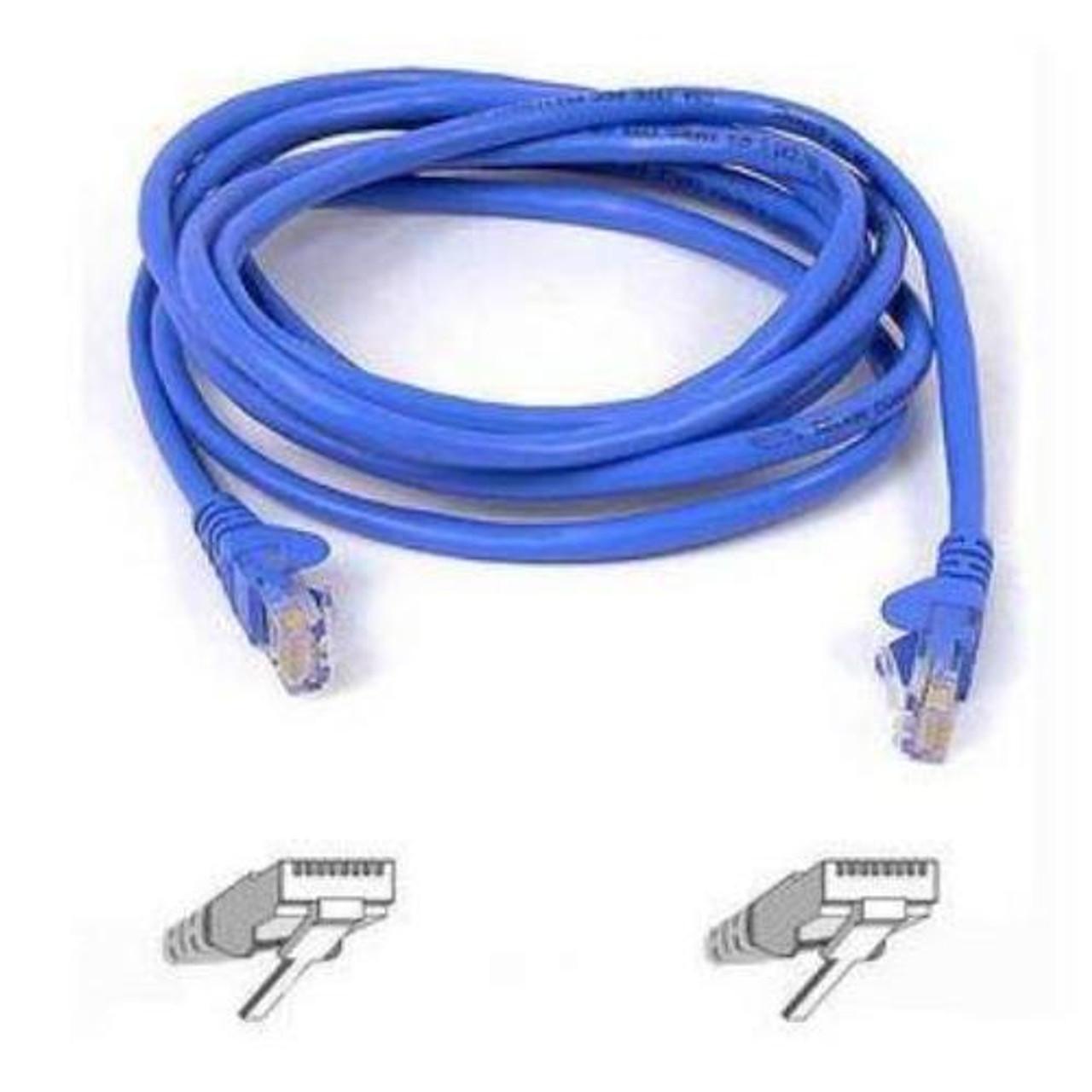 Belkin 3ft Cable Patch CAT5 UTP-4PR RJ45M BLK A3L791-03-BLK