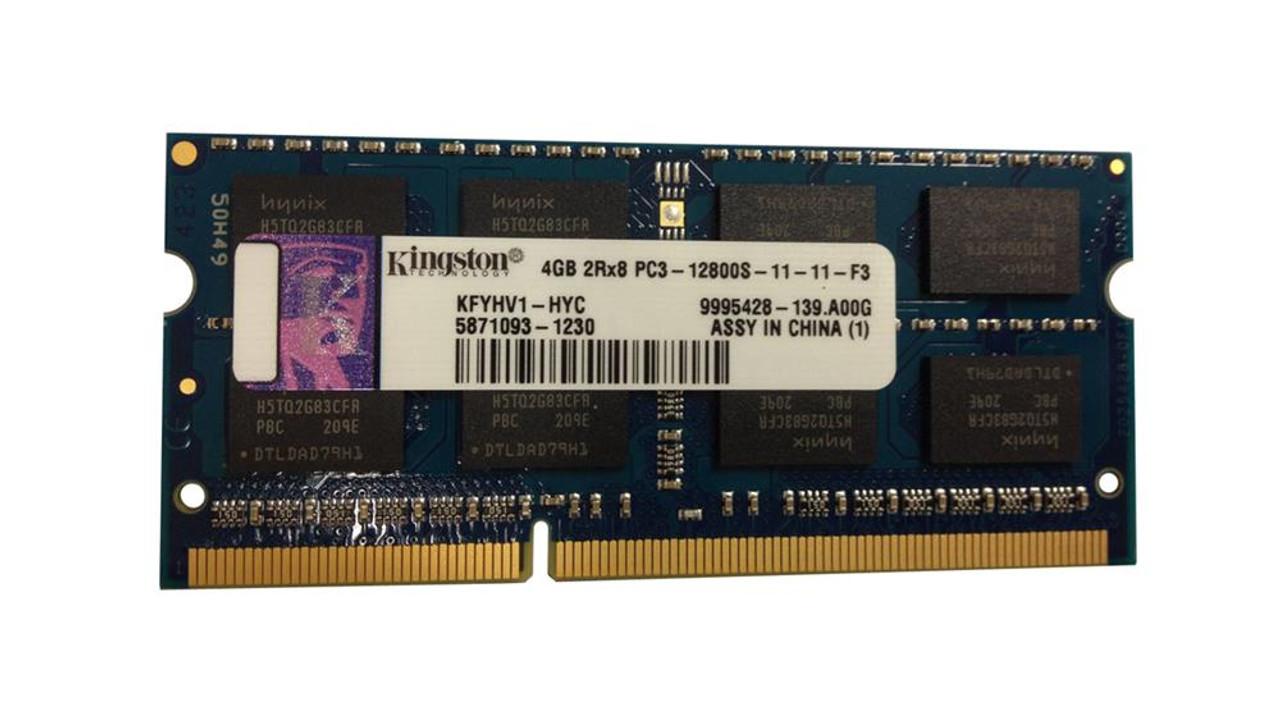 1X4GB KR1P74-HYC KINGSTON 4GB 2RX8 PC3L-10600E MEMORY MODULE