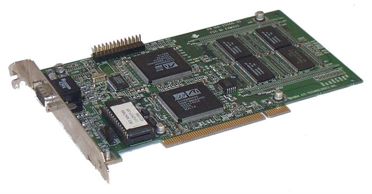 ATI TECH 109-25500 PCI MACH 64 VIDEO CARD