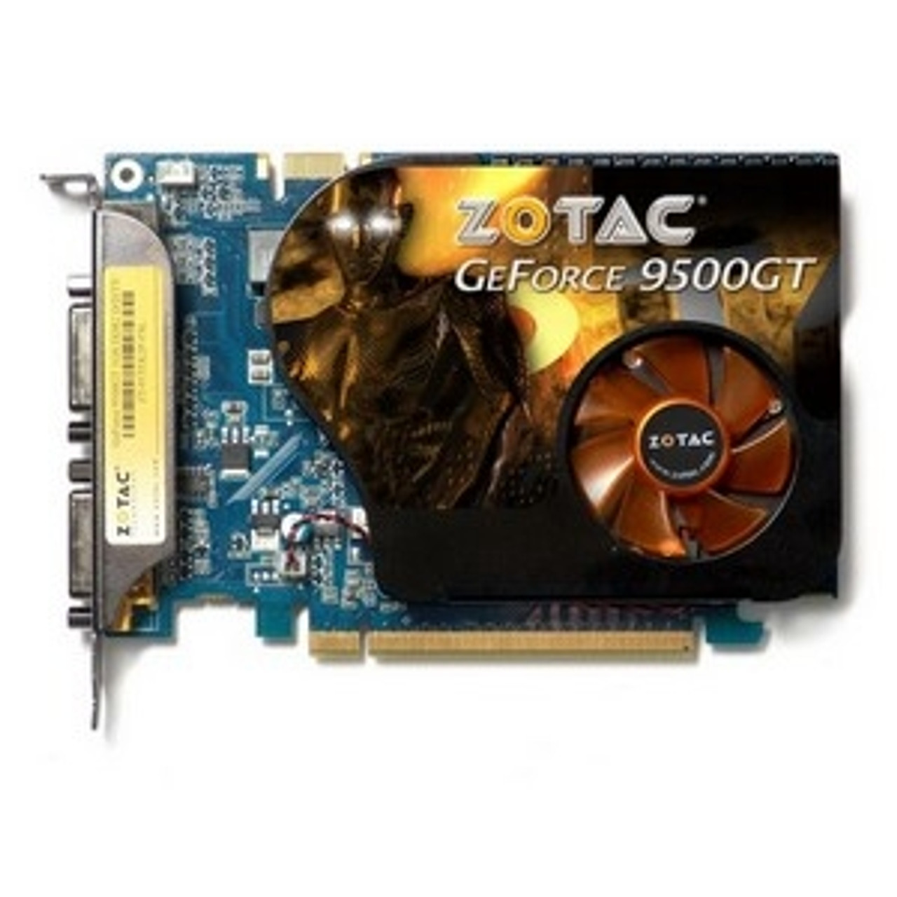 Zt 95tek2p Fsl Zotac Geforce 9500 Gt Graphic Card 550 Mhz Core 1gb Gddr3 Sdram Pci Express 2 0 X16 1800 Mhz Memory Clock 2560 X 1600 Sli Dvi