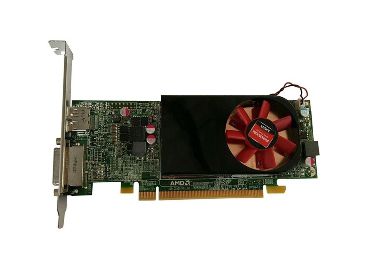 9C8C0 Dell 2GB Radeon R7 250 DisplayPort DVI-i Full Height Video Graphics  Card