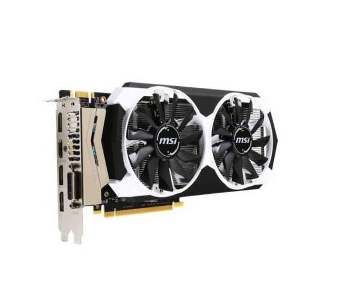 MSI-960A2X MSI NVidia GeForce GTX 960 4GB GDDR5 DVI/HDMI/3x DisplayPort PCI  Express Video Graphics Card