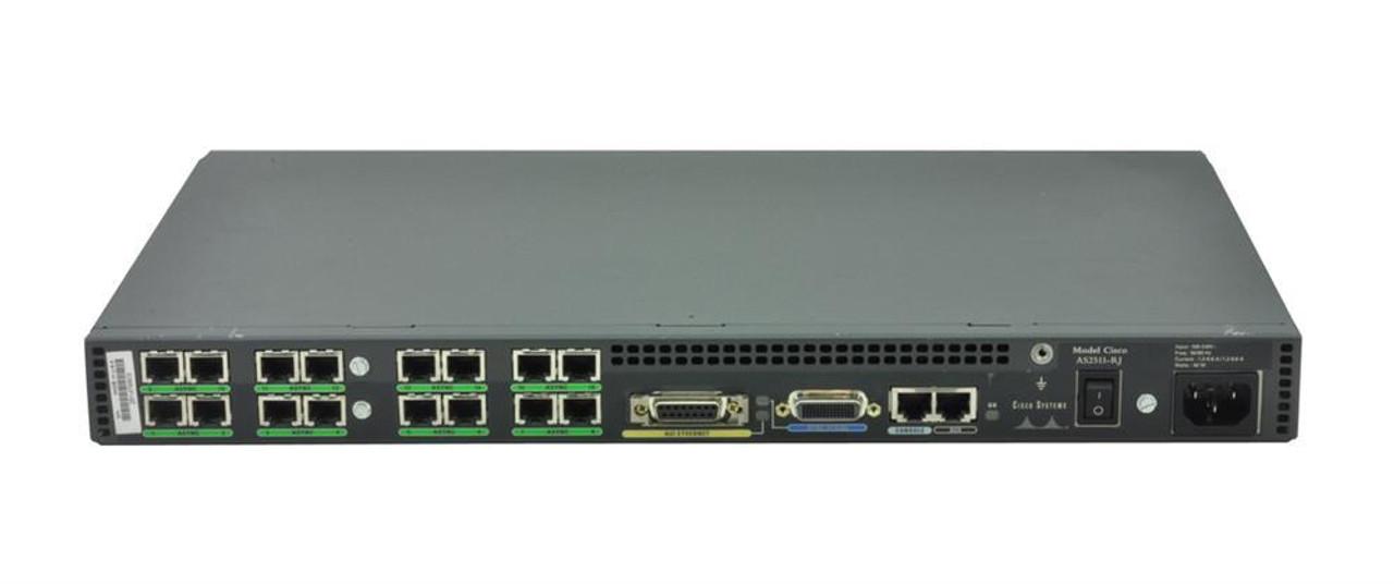 CISCO 2500 2507 CISCO2507-DC 16 PORT ISDN-BRI Router  DC POWER