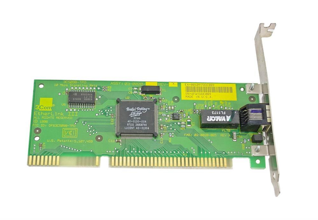 3Com 3C509B or 3C509B-TPO Drivers Windows