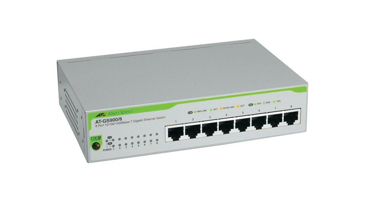 Allied Telesyn 8-Port 10//100 Unmanaged Hub with Swtich Module