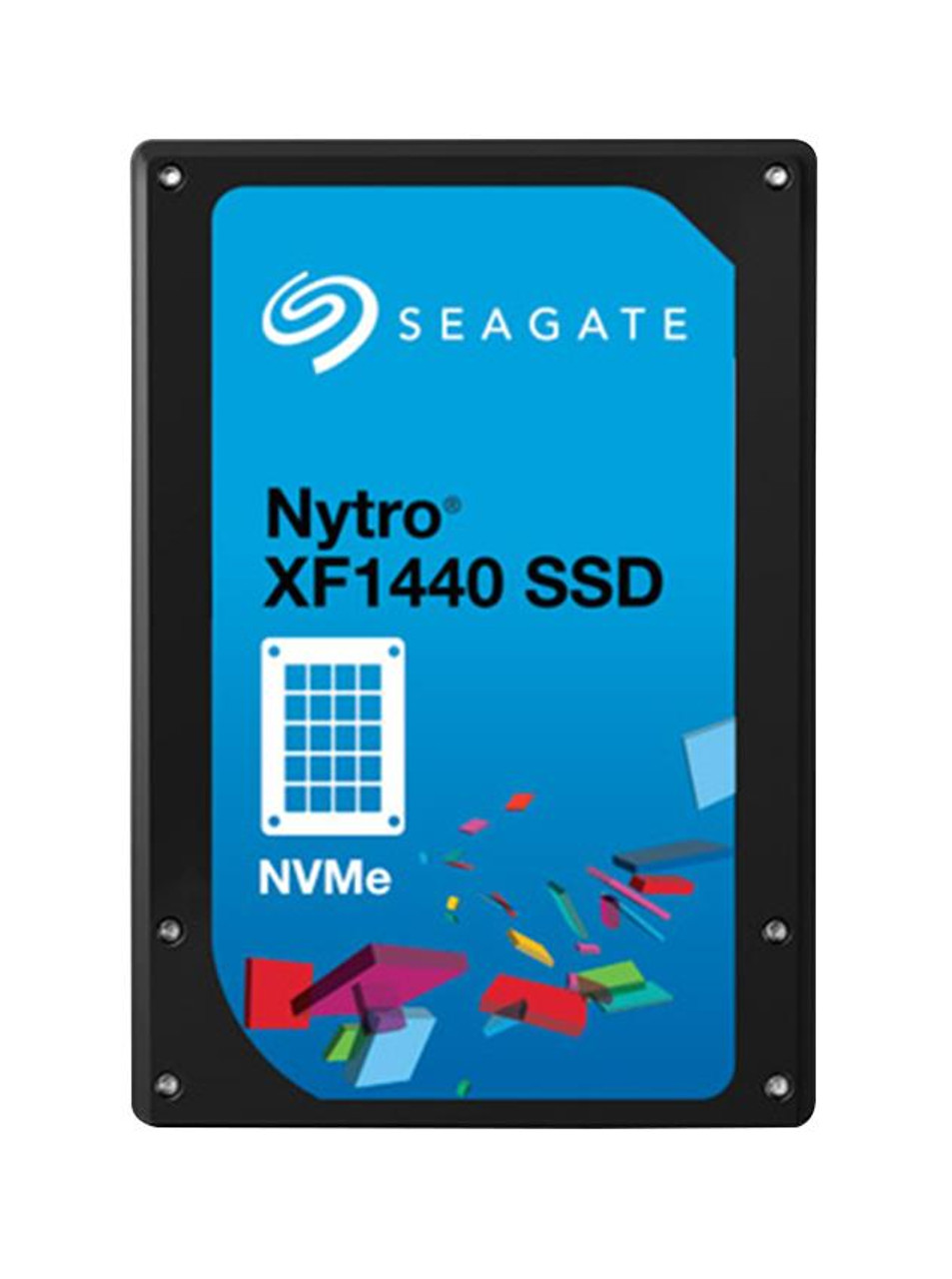 ST1600KN0001 Seagate Nytro XF1440 1 6TB eMLC PCI Express 3 0 x4 NVMe Mixed  Use U 2 2 5-inch Internal Solid State Drive (SSD)