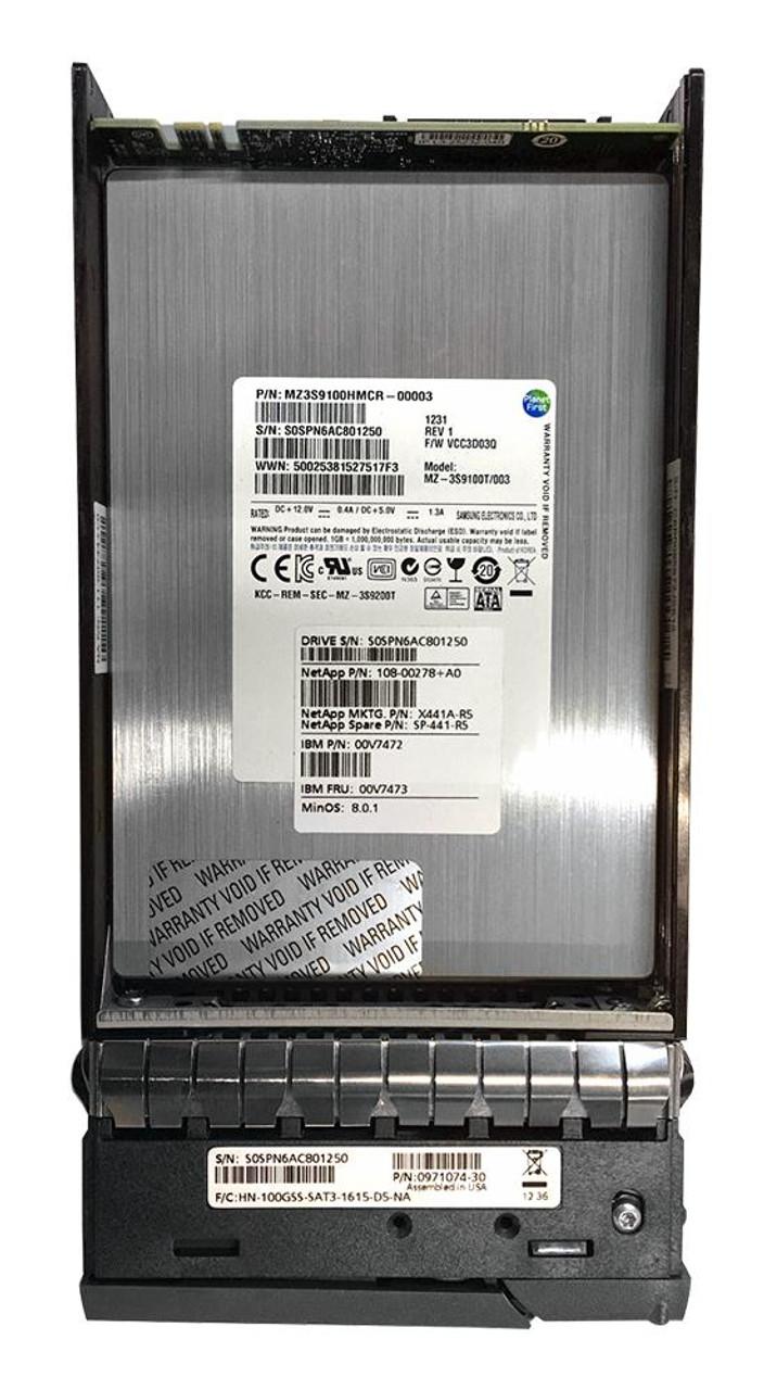 MZ3S9100HMCR Samsung 100GB SLC SAS 6Gbps 3 5-inch Internal Solid State  Drive (SSD) for VNX Series