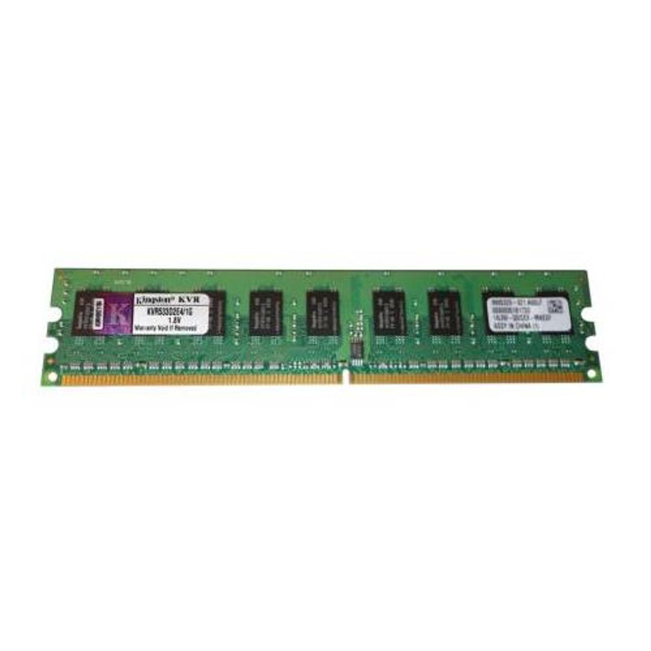 KVR533D2E4/1G Kingston 1GB DDR2 ECC PC2-4200 533Mhz Memory