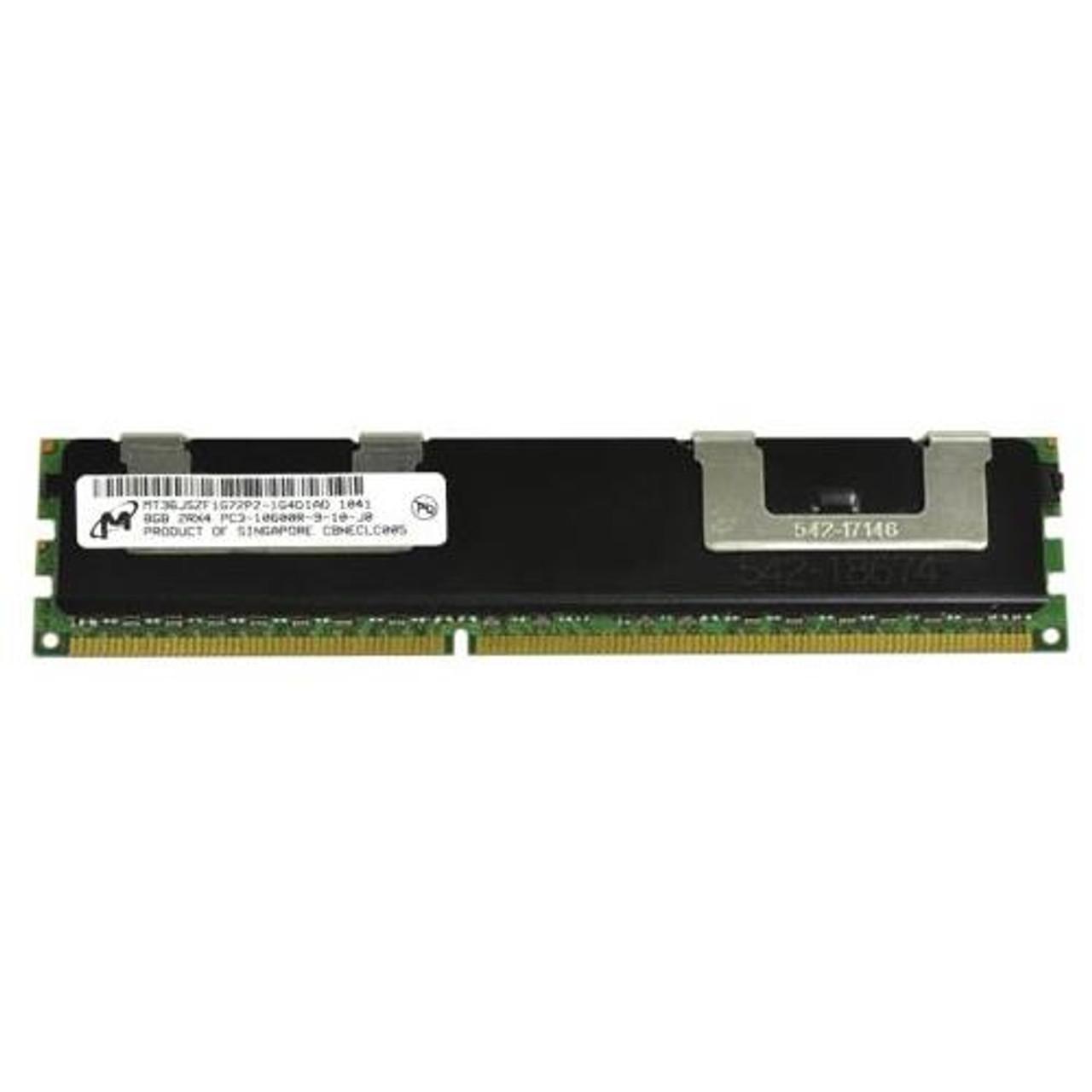 Micron 8GB PC3-8500 DDR3-1066MHz ECC Registered Server RAMMT36JSZS1G72PY-1G1