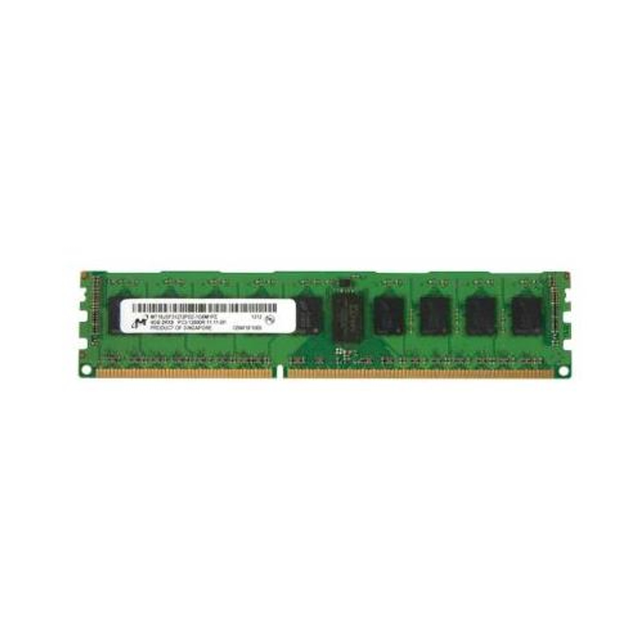 Micron MT18JSF51272PDZ 1G6K1HG 4GB 2Rx8 PC3-12800R 1600MHZ ECC Server Memory