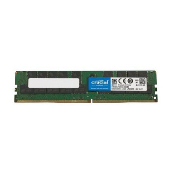CT64G4LFQ424A Crucial 64GB DDR4 Registered ECC PC4-19200 2400Mhz 4Rx4 Memory