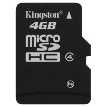 MBLYG2/4GB Kingston 4GB Class 4 microSDHC Flash Memory Card