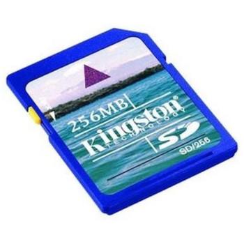 SD256 Kingston 256MB SD Flash Memory Card