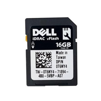 0T6NY4 Dell 16GB Class 10 SD Flash Memory Card