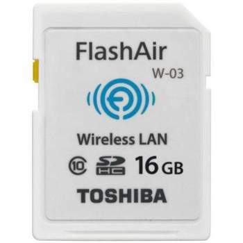 PFW016U-1CCW Toshiba FlashAir III 16GB Class 10 SD Wireless Flash Memory Card