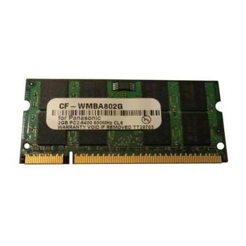 CF-WMBA802G Panasonic 2GB DDR2 SoDimm Non ECC PC2-6400 800Mhz Memory