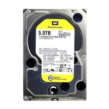 WD5001FSYZ-01SS7B0 Western Digital 5TB 7200RPM SATA 6.0 Gbps 3.5 128MB Cache RE Hard Drive