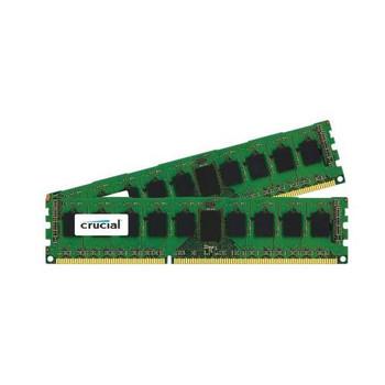 CT2KIT51272BW1339 Crucial 8GB (2x4GB) DDR3 Registered ECC PC3-10600 1333Mhz Memory