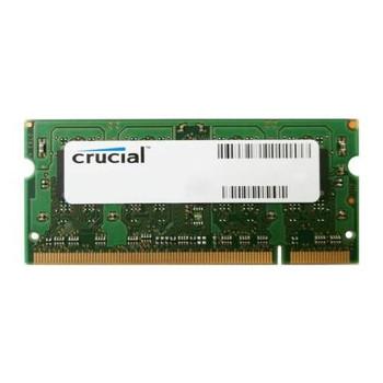 CT12864AC40E.16FB Crucial 1GB DDR2 SoDimm Non ECC PC2-3200 400Mhz Memory