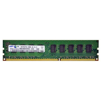 M391B5673FH0-CH9 Samsung 2GB DDR3 ECC PC3-10600 1333Mhz 2Rx8 Memory