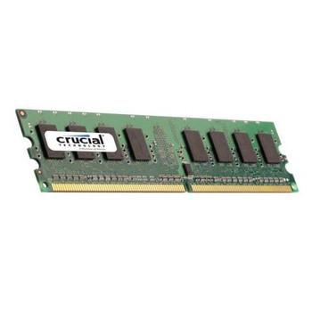 CT12864AA800.K16FK Crucial 1GB DDR2 Non ECC PC2-6400 800Mhz Memory