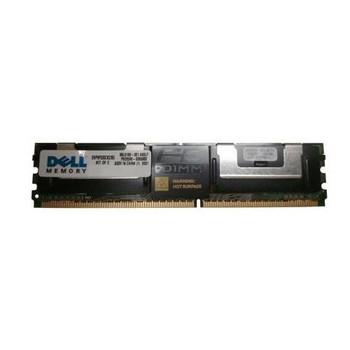 SNP9F035CK2/8G Dell 8GB (2x4GB) DDR2 Fully Buffered FB ECC PC2-5300 667Mhz Memory