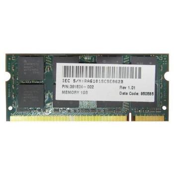 361524-002 HP 1GB DDR2 SoDimm Non ECC PC2-5300 667Mhz Memory