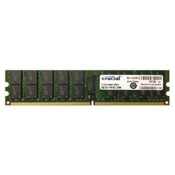 CT102472AB667 Crucial 8GB DDR2 Registered ECC PC2-5300 667Mhz 2Rx4 Memory