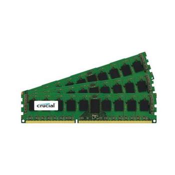 CT3CP51272BB1067 Crucial 12GB (3x4GB) DDR3 Registered ECC PC3-8500 1066Mhz Memory