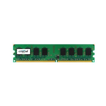 CT25664AA800.16FG Crucial 2GB DDR2 Non ECC PC2-6400 800Mhz Memory