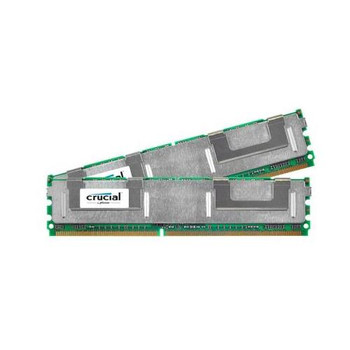CT2KIT51272AQ667 Crucial 8GB (2x4GB) DDR2 Fully Buffered FB ECC PC2-5300 667Mhz Memory