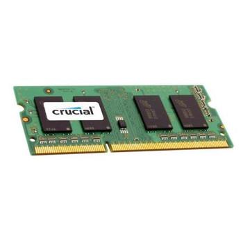 CT12864BC8006.8SFB Crucial 1GB DDR3 SoDimm Non ECC PC3-6400 800Mhz 1Rx8 Memory