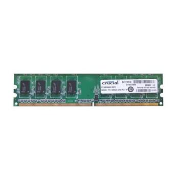 CT12864AA800.M8FE Crucial 1GB DDR2 Non ECC PC2-6400 800Mhz Memory