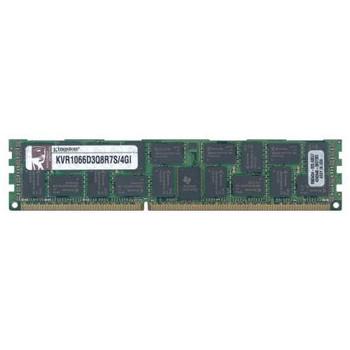 KVR1066D3Q8R7S/4GI Kingston 4GB DDR3 Registered ECC PC3-8500 1066Mhz 4Rx8 Memory
